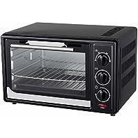 1600W Mini-Backofen mit Timer 30 Liter Miniofen Ofen Pizzaofen Minibackofen