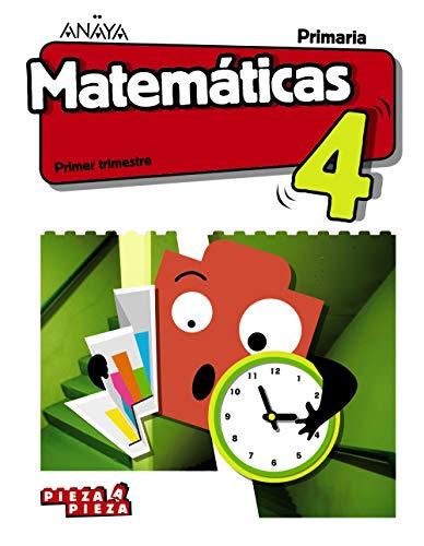 Matemáticas 4. (Pieza a Pieza)