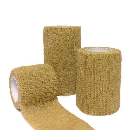 firstaid4sport-venda-adhesiva-amarillo-canela-talla5cm-x-45m