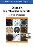 Cours de microbiologie générale - Nouveau programme