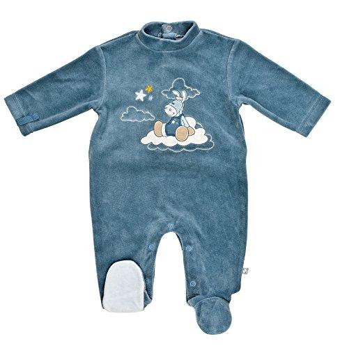 Noukies BB1153133 - Pyjama - Bébé garçon, Bleu (Blau ), 0 mois