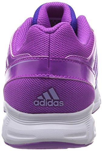 Adidas Hyperfast Scarpe Da Ginnastica, Bambine E Ragazze Viola(Violett (Flash Pink S15/Glow Purple S14/Night Flash S15))