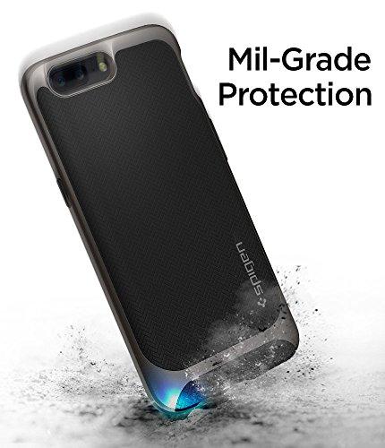pick up 0ed90 ac5e0 64% OFF on Spigen TPU Ultra Hybrid Back Case Cover for OnePlus 5 ...