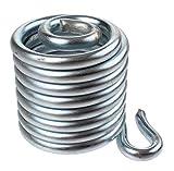 Lepper Sattelfeder links Primus 214/215 Stahl Silber