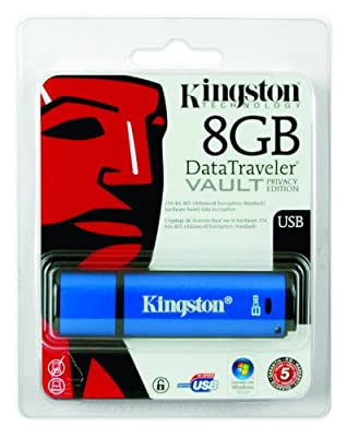 Kingston Data Traveller Vault USB with 256bits Encryption - Parent ASIN
