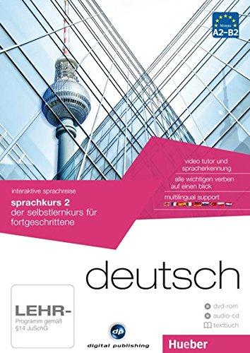 interaktive sprachreise sprachkurs 2 deutsch: der selbstlernkurs für fortgeschrittene / Paket: 1...