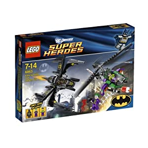 LEGO Super Heroes 6863: Batwing Battle Over Gotham City