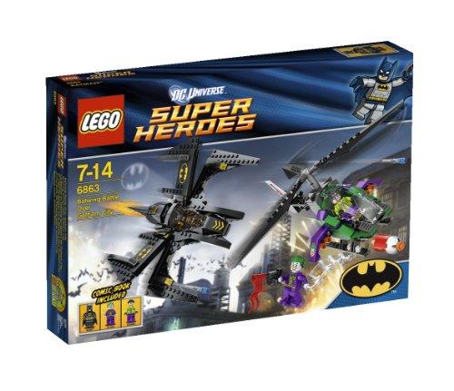 LEGO 6863 Super Heroes Batwing Kampf über Gotham City