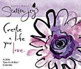 Kathy Davis Scatter Joy Year-In-A-Box Calendar (2016) by Year-In-A-Box (2014-06-17)