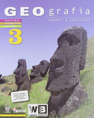 Geografia. Popoli e territori. Con e-book. Con espansione online. Per la Scuola media: 3