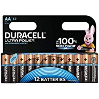 Duracell - LR6 MX1500 Ultra Power Avec contrôle de puissance - Piles Alcalines type AA - Lot de 12