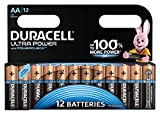 Duracell Ultra Power Power check Typ AA Alkaline Batterien, 12er Pack