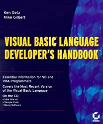 Visual Basic Language Developer's Handbook by Ken Getz (2000-02-02)