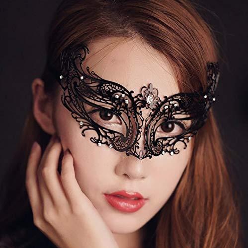 erade Maske Spitze Augenmaske Für Masquerade Proms, Nachtclub, Halloween-Party, Weihnachten, Ostern, Erotische Masken ()