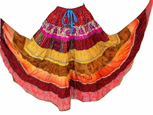 Dancers World Ltd (UK Seller) - Jupe - Femme multicolore Multi shades more on the bright colour side 631