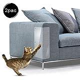 Furniture Defender Kratzschutz für Katzen, 2 Stück, Möbelschutz mit verdrehten Pins – für Sofa, Couch, Stuhl oder andere Polstermöbel