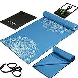 Anchor Yoga Mat set Towel Knee Pad Carrier strap bag eBook for Home