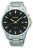 Best Seiko Of 2 Tones - Seiko Mens Kinetic Two Tone Stainless Steel SKA735P1 Review