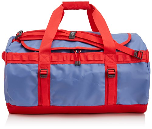 The North Face Base Camp Sac de sport Vintage Blue/Tomato Red Taille S