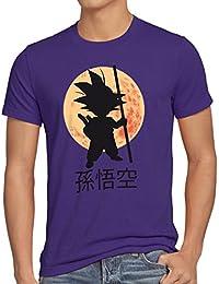 style3 Goku Clair de Lune T-Shirt Homme