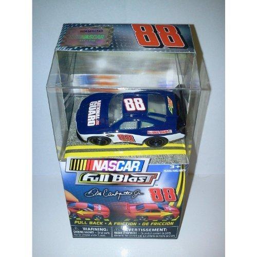 Dale Jr Guard (Nascar FULL BLAST Pull Back Car # Dale Earnhardt Jr Blue National Guard car by Spin Master)