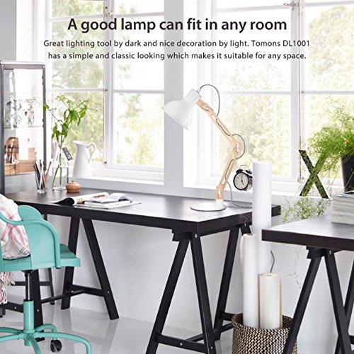 Tomons dell\'oscillazione del braccio Desk Lamp, regolabile ...
