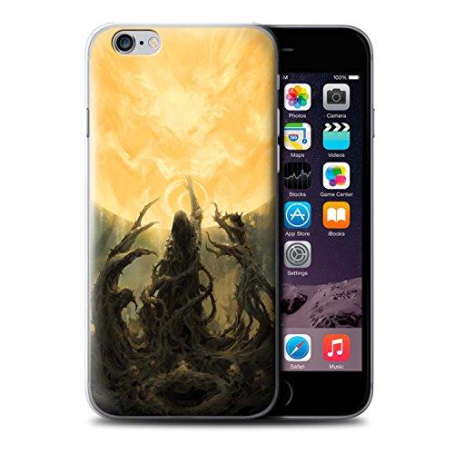 Offiziell Chris Cold Hülle / Case für Apple iPhone 6S / Sonnengott/Reben Muster / Unterwelt Kollektion Sonnengott/Reben