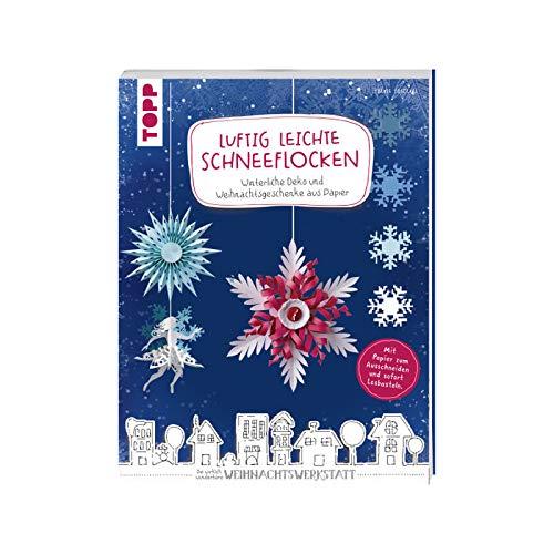 CREATIV DISCOUNT Buch Luftig Leichte Schneeflocken