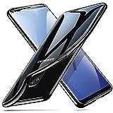 Coque pour Samsung S9, Coque Galaxy S9 Silicone, ESR Samsung Galaxy S 9 Coque Transparente Gel Silicone TPU Souple avec Cadre de Protection Brillant Chromé, Bumper Housse Etui de Protection Premium [Anti Choc] [Ultra Fin] [Ultra Léger] [Compatible avec