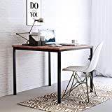 #9: Camabeds Meaz Studio Collection Desk / Study / Computer Table 3' x 3' (Brown)