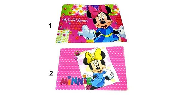 Repas fille Modele2-161 Set dessous de table bureau 3D Minnie Disney