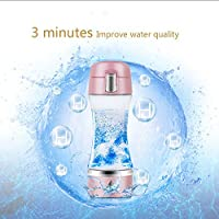 Spatial Element Wasserstoff-Generator Portable Quantum Elektrolyse Negativ Ionen Cordless Smart Health Cup