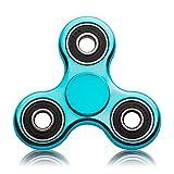 Blion Fidget Spinner Enfant ou Adulte - Roulement Haute Vitesse - Tourne 1 Minute -Triangle Spinner Fidget Toy Contre Stress Anxiété