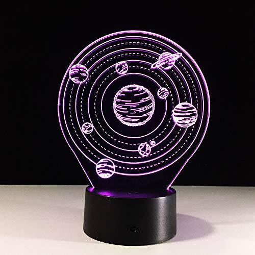 Mountainbike Fahrer 3D Nachtlicht 7 Farben ändern Desktop Tischlampe 3D Fantasie Sport Fans für Freund Kinder Geschenk X429## 5