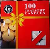 #9: White Tealight Candles | Pack of 100