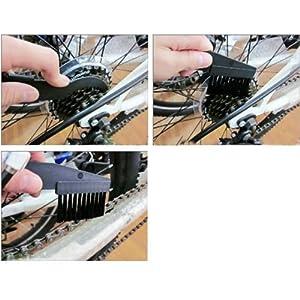 Set Outils Nettoyage Chaine Bicyclette Vélo 2 Pièces Brosse Lave-Pont