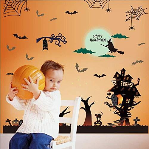 cor Wandaufkleber Halloween Kürbis Charme Entfernbare Wandaufkleber Kunst Vinyl Aufkleber Home Room Decor 50 * 100 cm ()