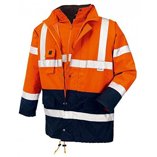 Preisvergleich Produktbild teXXor Warnschutz-Parka Calgary wasserdichte, winddichte Arbeitsjacke, XL, orange, 4108