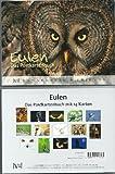 Postkartenbuch EULEN * Buch mit 14 Postkarten