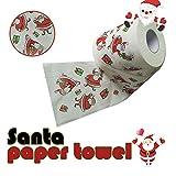 Happy Event Weihnachtsmuster Rollenpapier | Drucken Interessantes Toilettenpapier | Tisch Küchenpapier