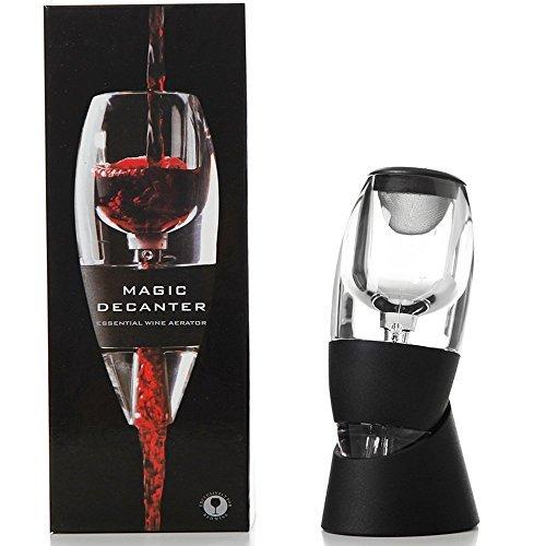tavax Essential rot Wein Luftsprudler Ausgießer Dekanter, das ideale Geschenk für eine Hochzeit,...