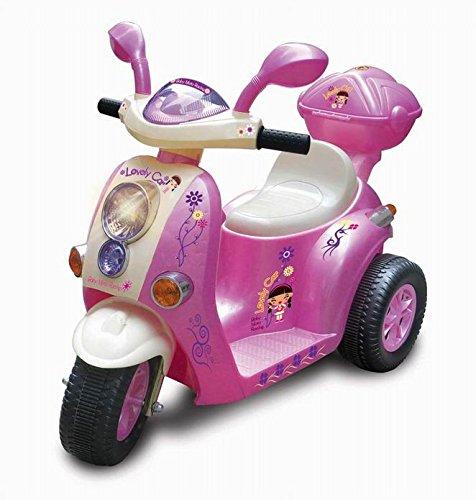 Offerte per Mondial Toys Moto ELETTRICA 6V Scooter per Bambini con LUCI E Suoni Pink 7366
