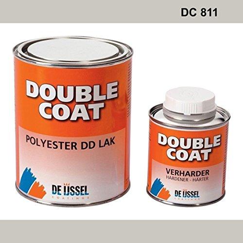 De IJssel Double Coat 2K Bootslack - Farbe lichtgrau/DC 811-1 kg Set - (2K Lack, Yachtlack, Decklack) licht grau - 811 Licht