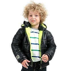 Cherry Crumble Soft Fleece Lined Puffer Jacket