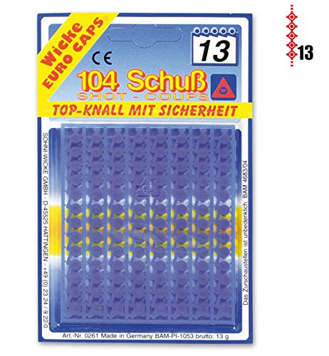 Fritz Fries & Söhne GmbH & Co. KG 13 Schuss Munition 104 Pack