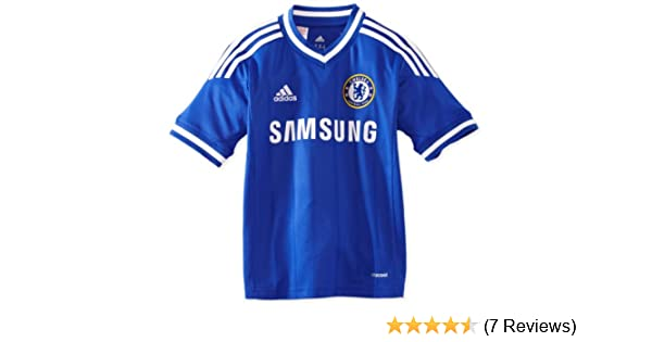 18561d6c0 adidas Boy's Chelsea FC Home Jersey: Amazon.co.uk: Sports & Outdoors