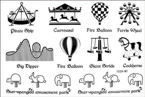 2012 spätestens neues Design heißer Verkauf Männer und Frauen wasserdichte fake tattoo Trojan Ballon Tattoo-Aufkleber (Jubeln Make-up)