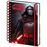 "Cuaderno de notas Star Wars: Epidodio VII - The Force Awakens/ El Despertar de la Fuerza ""Kylo Ren"""