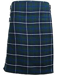 Tartanista - Kilt écossais (Highland) Douglas - bleu - 4,57 m (5 yards)/283 g (10 oz)