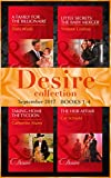 Desire September 2017 Books 1 -4 (Mills & Boon e-Book Collections) (Billionaires and Babies)